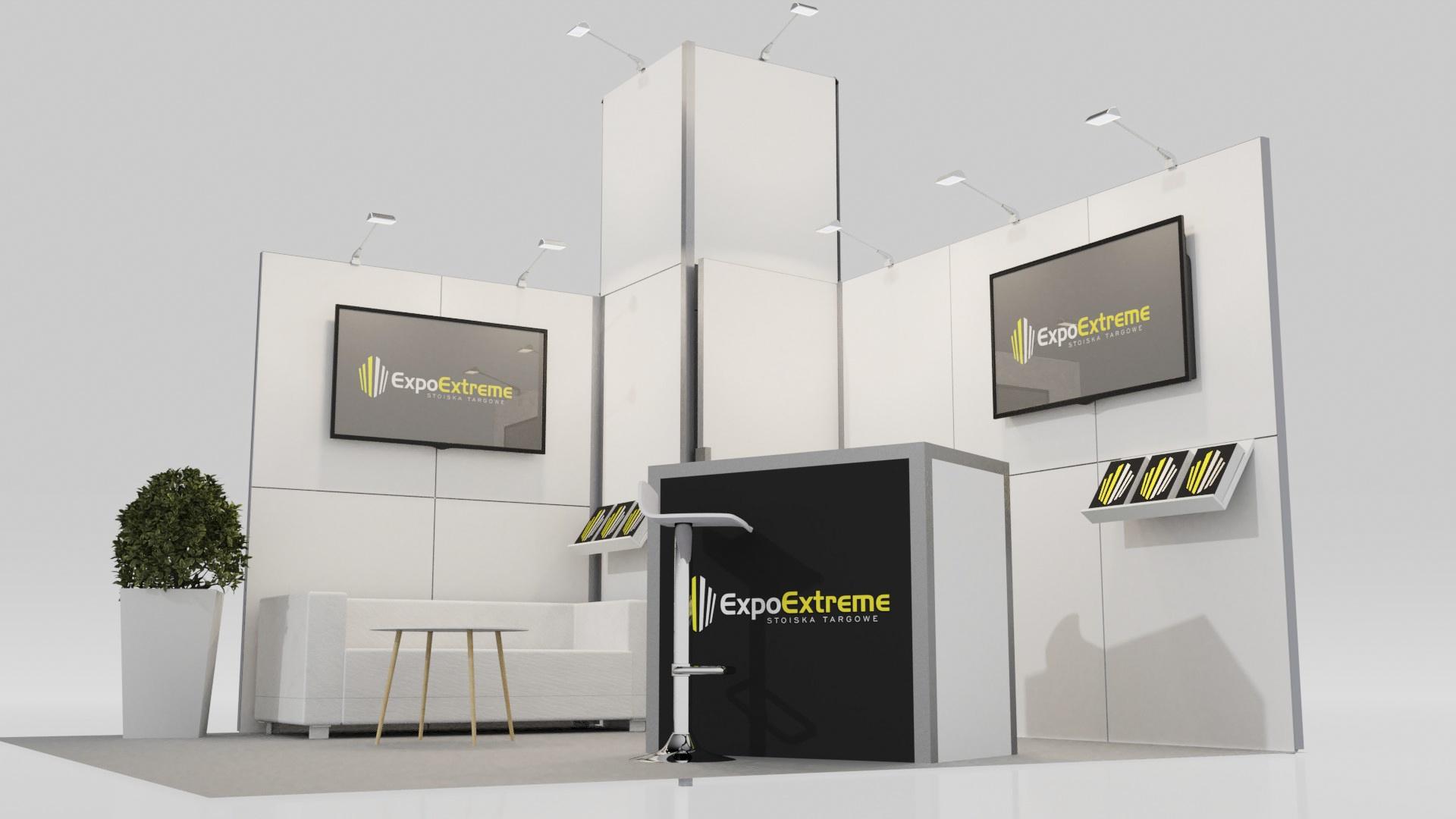 Elegancka ścianka konferencyjna